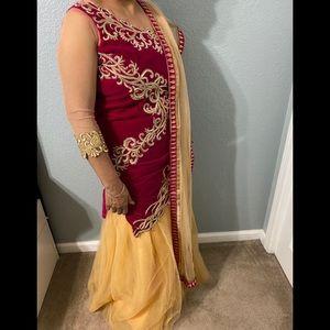 Indian/ Punjabi Lehenga skirt suit